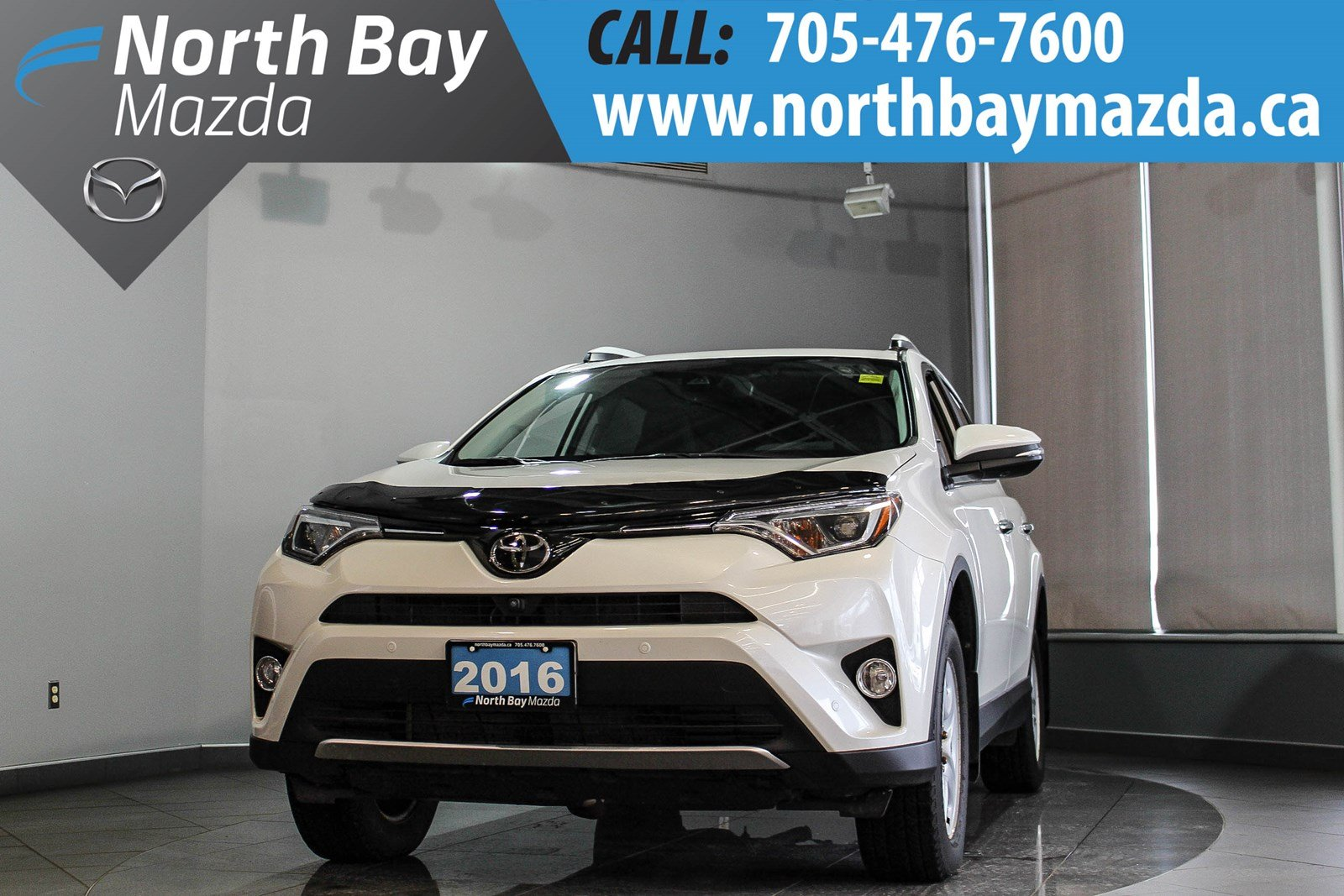 Pre-Owned 2016 Toyota RAV4 Limited with Clean CarProof, One Owner, 2 Sets of Tires!