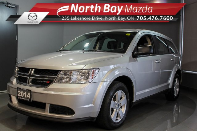 Pre-Owned 2014 Dodge Journey CVP/SE FWD with Cruise, Bluetooth, Clean CarFax!