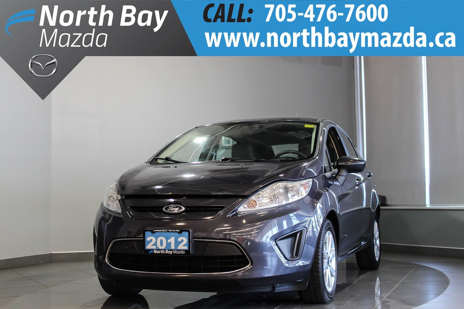 Pre-Owned 2012 Ford Fiesta SE with Heated Seats, Cruise Control
