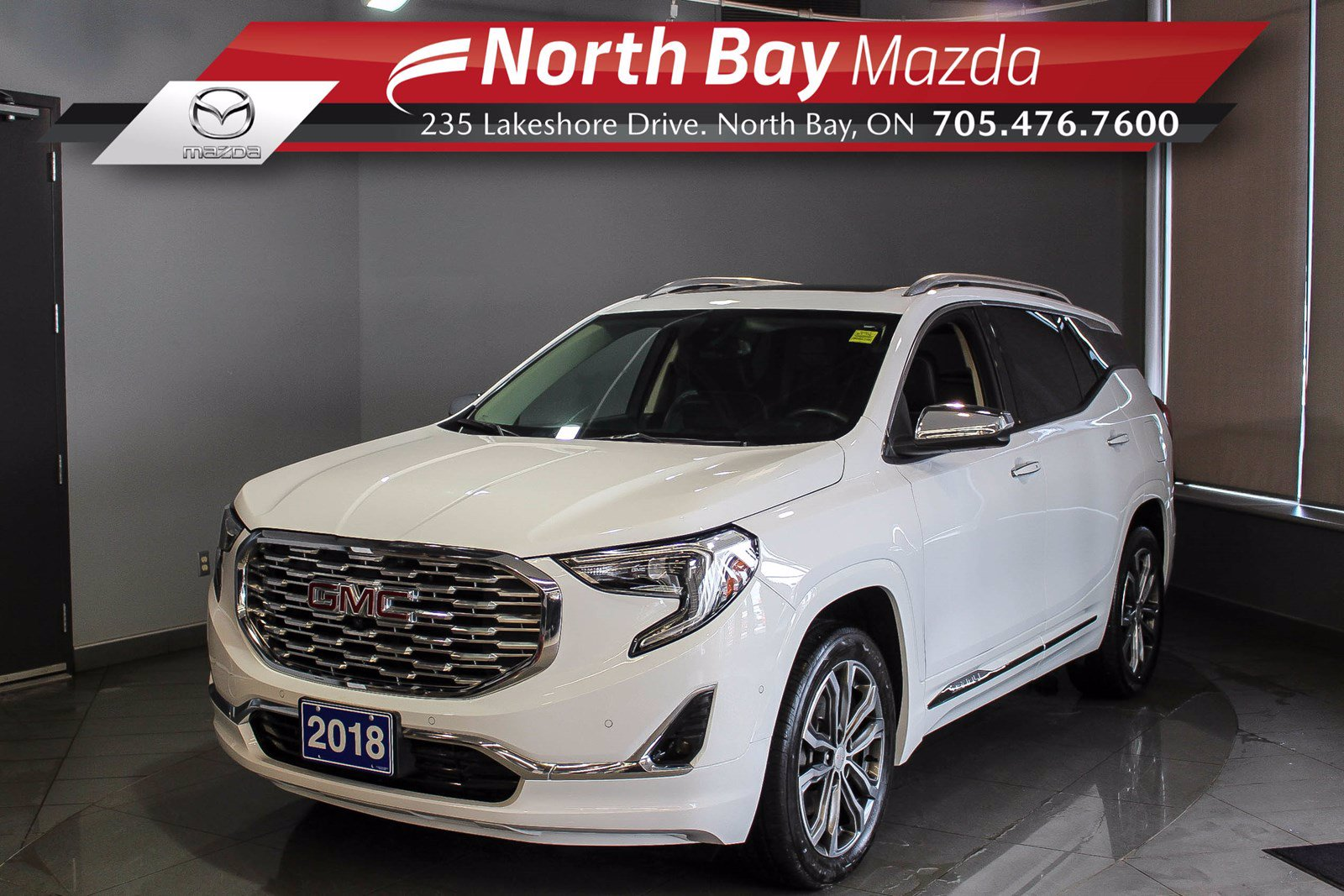 Pre-Owned 2018 GMC Terrain Denali AWD - Virtual Tour & Curbside Delivery Available!