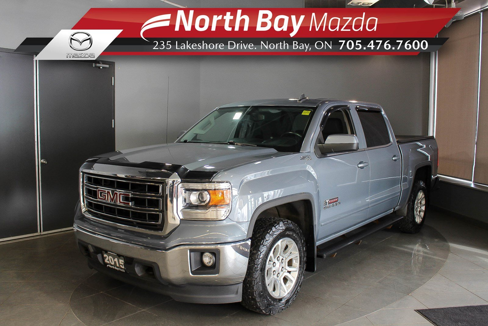 Pre-Owned 2015 GMC Sierra 1500 SLE - Virtual Tour & Curbside Delivery Available!