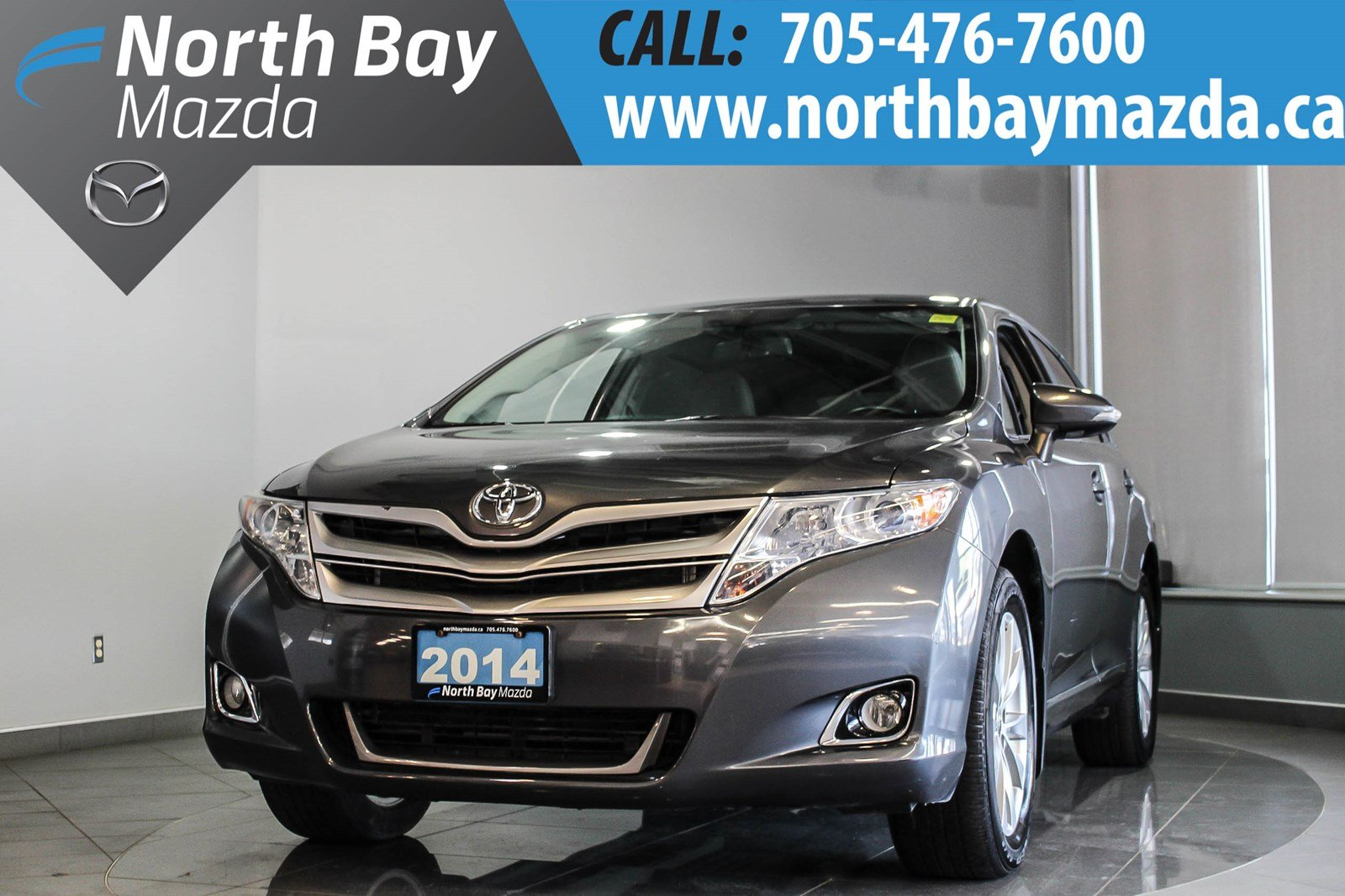 Pre-Owned 2014 Toyota Venza LE AWD 4Cyl with New Tires + Winter Tires and Free Storage!
