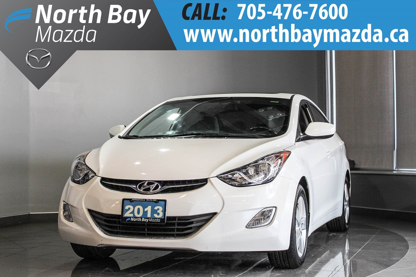 Pre Owned 2013 Hyundai Elantra Limited With Sunroof, Bluetooth, Cruise  Control