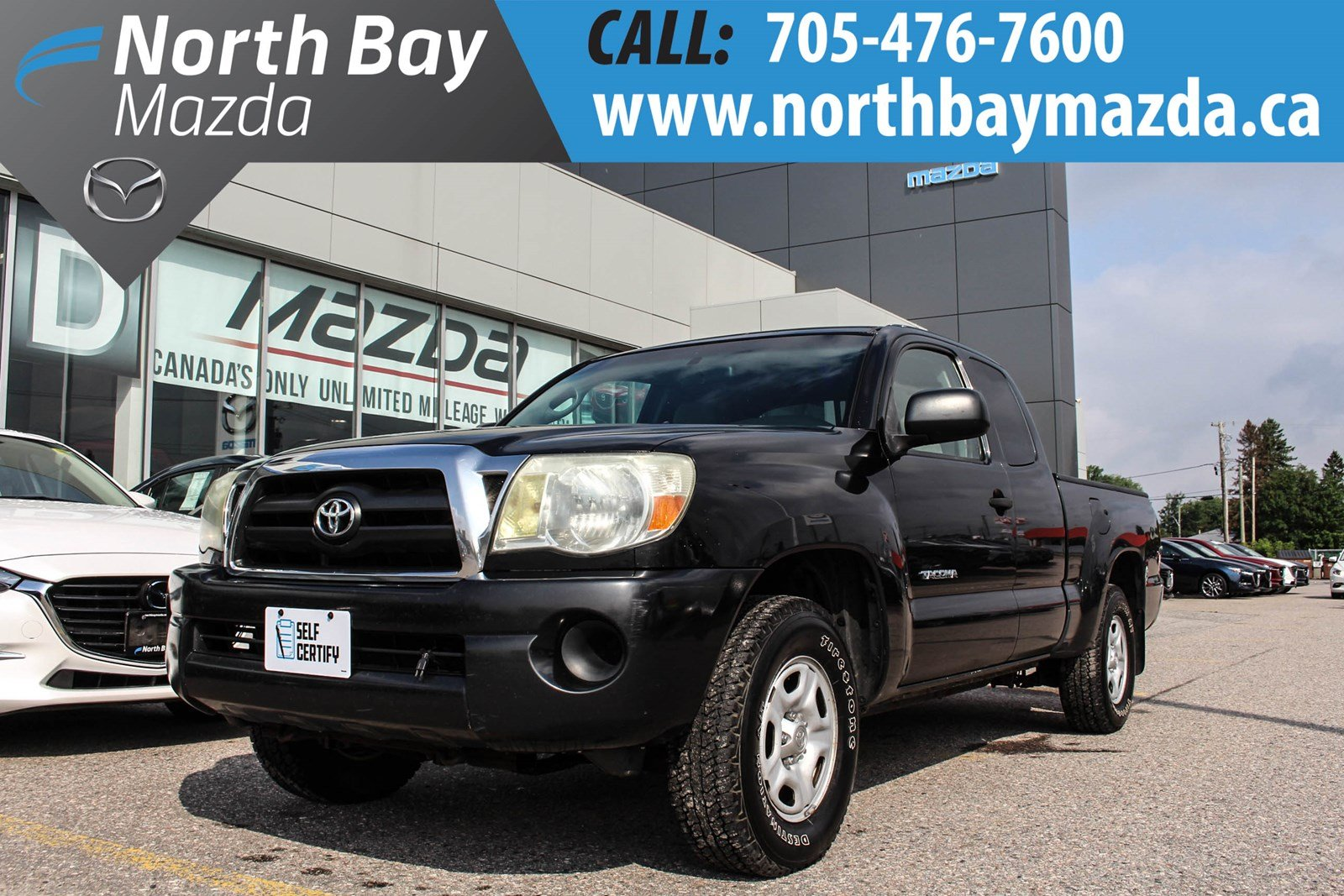 Pre-Owned 2007 Toyota Tacoma RWD Self Certify