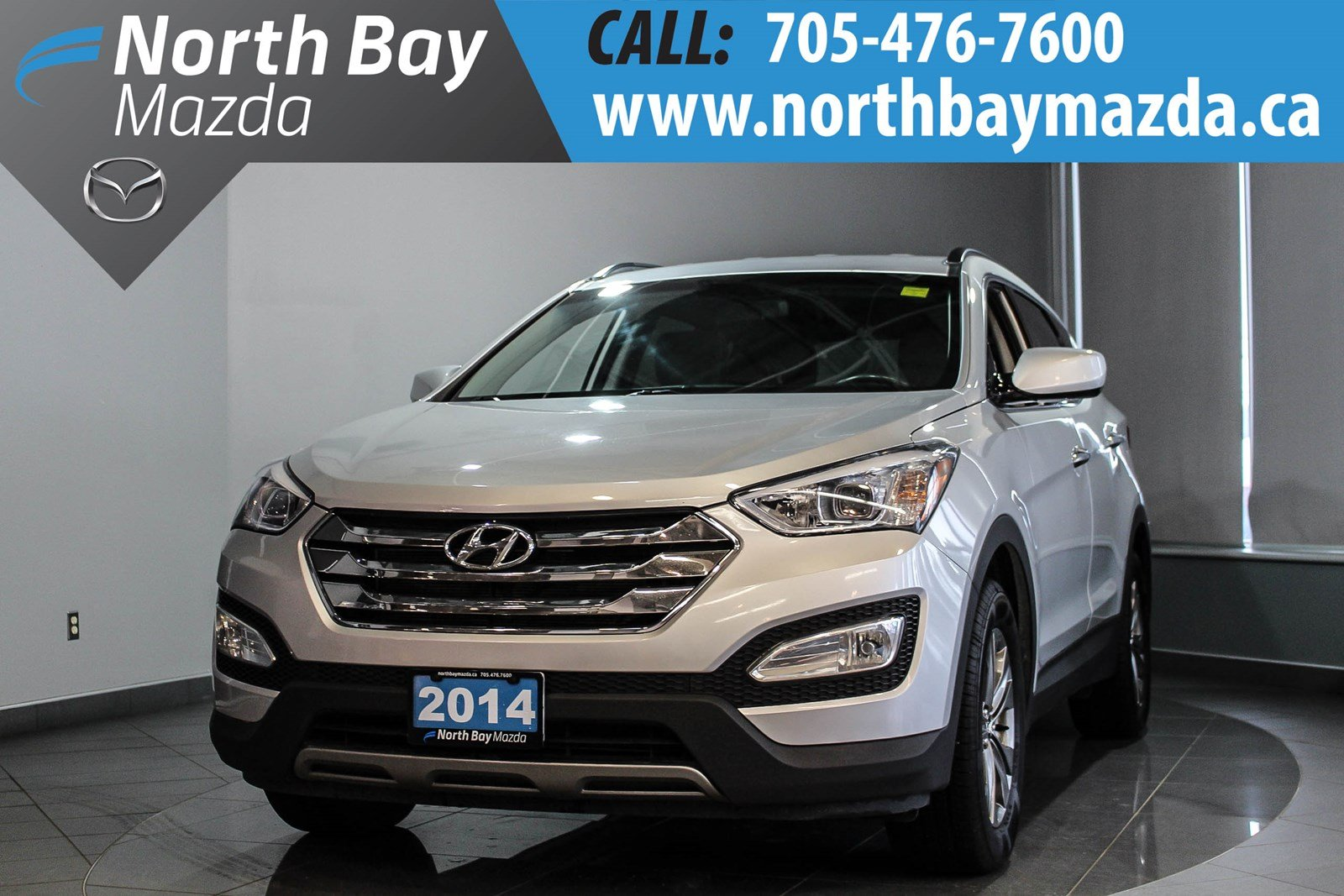 Pre-Owned 2014 Hyundai Santa Fe Sport 2.4L FWD with Heated Seats, Auto Headlights