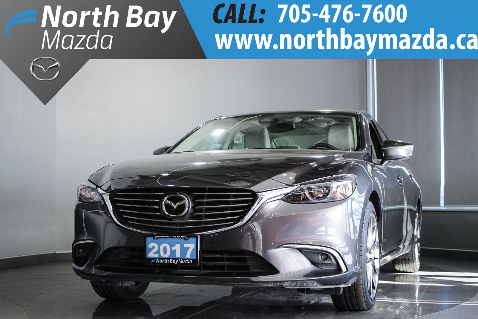 Pre-Owned 2017 Mazda6 GT DEMO With Navigation