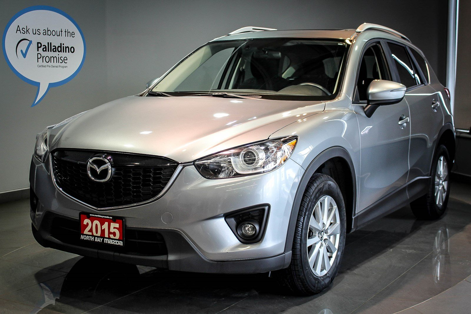 Certified Pre-Owned 2015 Mazda CX-5 GS Athletic + Fuel Efficient + Well Designed