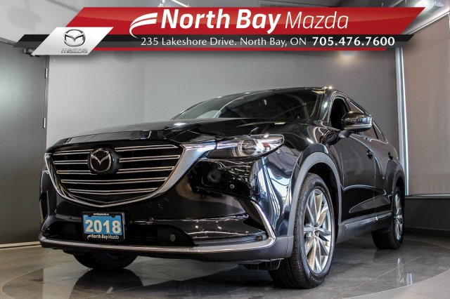 Pre-Owned 2018 Mazda Cx9 Signature DEMO with Nappa Leather, Nav, Sunroof!