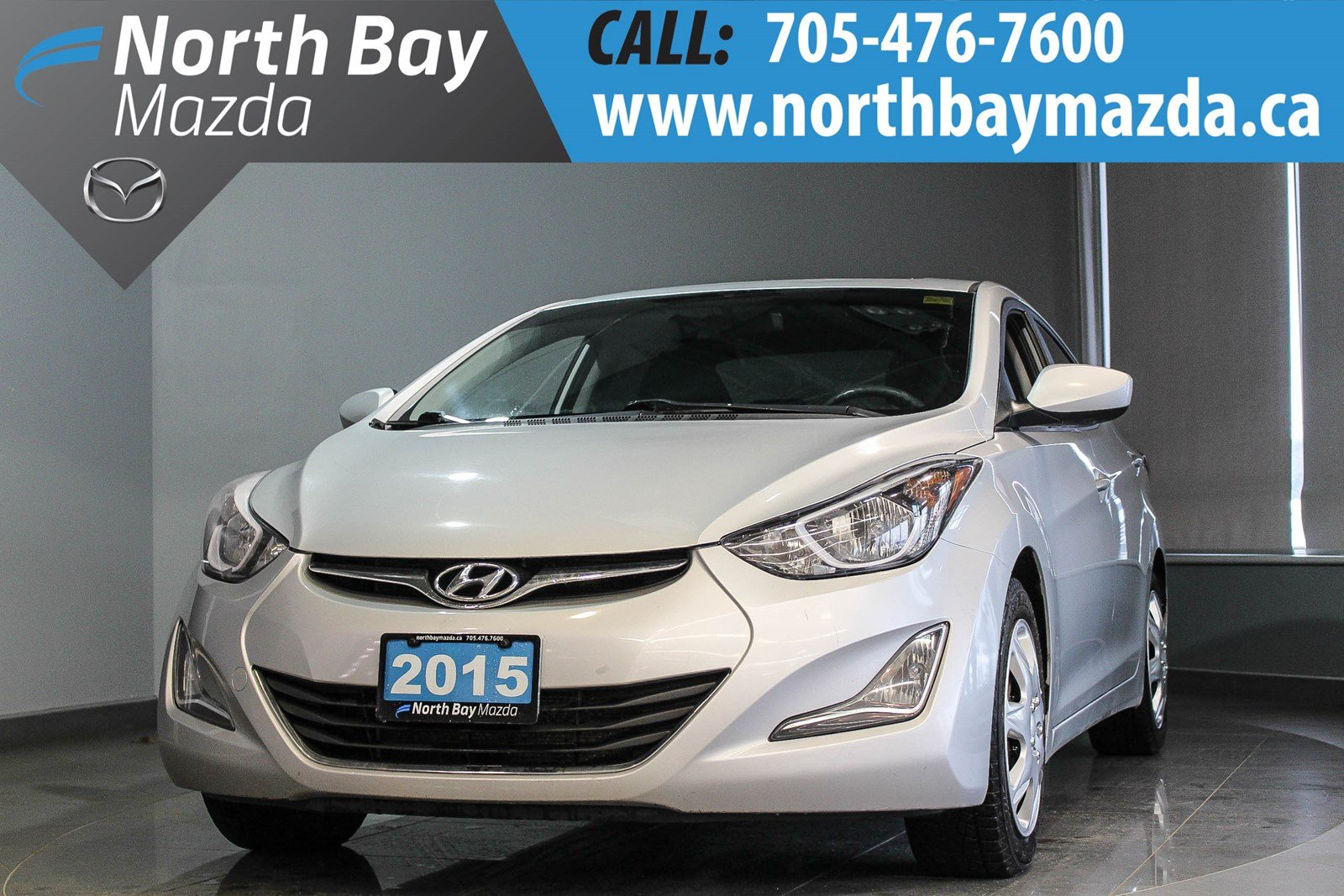 Pre-Owned 2015 Hyundai Elantra Limited with Sunroof, Cruise Control, Bluetooth