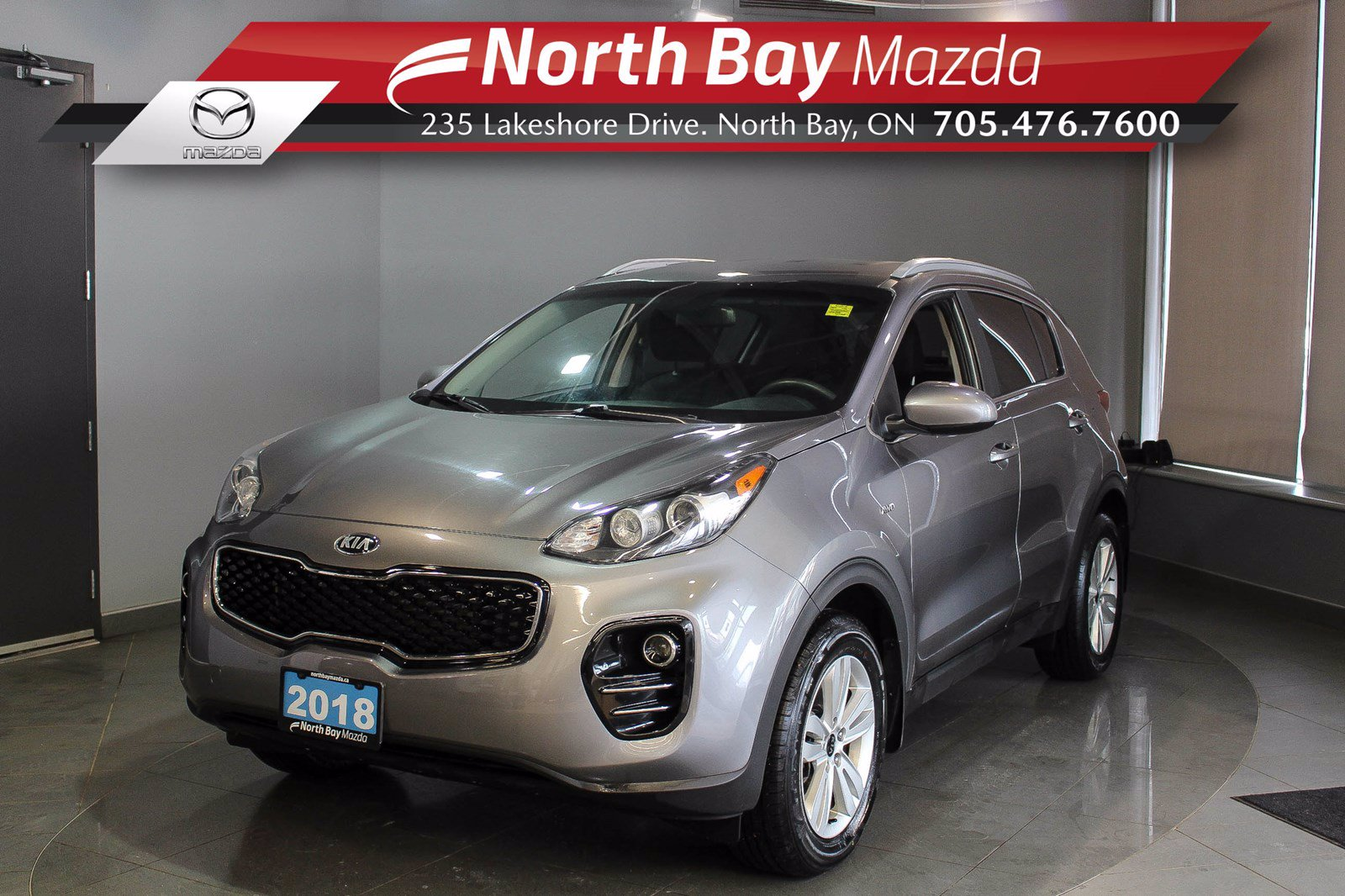 Pre-Owned 2018 Kia Sportage LX AWD - Virtual Tour & Curbside Delivery Available!