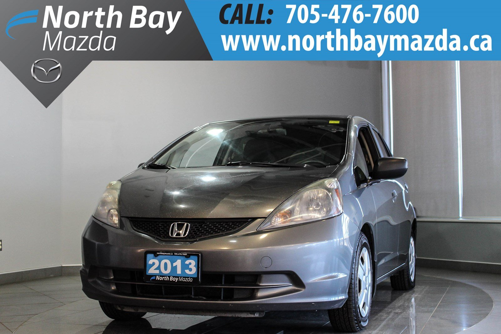 Pre-Owned 2013 Honda Fit DX-A As Low As $50 Weekly OAC!