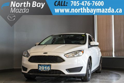 Pre-Owned 2016 Ford Focus SE Manual with Bluetooth, Sunroof, Two Sets of Tires!