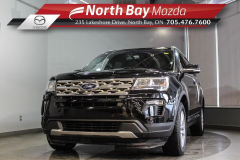 Pre-Owned 2018 Ford Explorer XLT 7 Pass AWD with Bluetooth, Cruise, Heated Seats