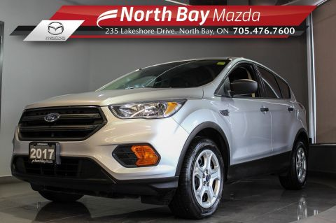 Pre-Owned 2017 Ford Escape S AWD with Bluetooth, Cruise, Backup Camera