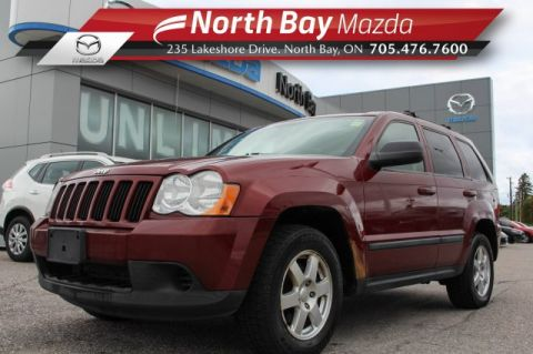 Pre-Owned 2008 Jeep Grand Cherokee Laredo 4x4 V6 Self Certify with Cruise, Bluetooth