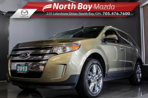 Pre-Owned 2013 Ford Edge SEL AWD V6 with Leather, Heated Seats, Sunroof, Bluetooth