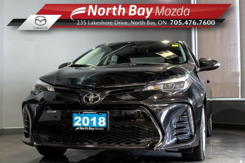 Pre-Owned 2018 Toyota Corolla SE with Bluetooth, Cruise, Heated Seats