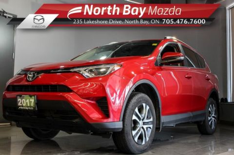 Pre-Owned 2017 Toyota Rav 4 LE FWD with Heated Seats, Floor Liners, Cruise Control