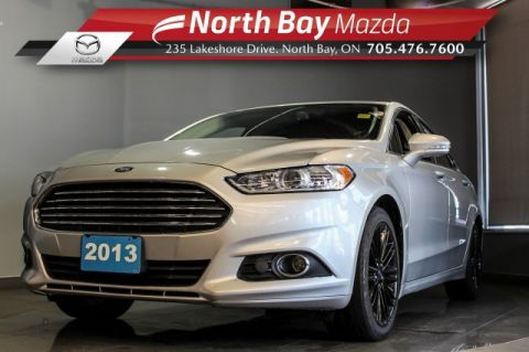 Pre-Owned 2013 Ford Fusion SE FWD with Leather, Nav, Power Driver Seat