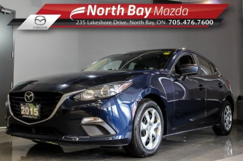 Pre-Owned 2015 Mazda3 Mazda3 GX FWD with Cruise, Bluetooth, New Brakes!