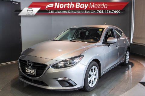 Pre-Owned 2016 Mazda3 Sport GX Auto - Test Drive Available by Appt! FWD Hatchback