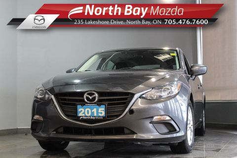 Pre-Owned 2015 Mazda3 Sport GS with Bluetooth, Heated Seats, New Brakes!