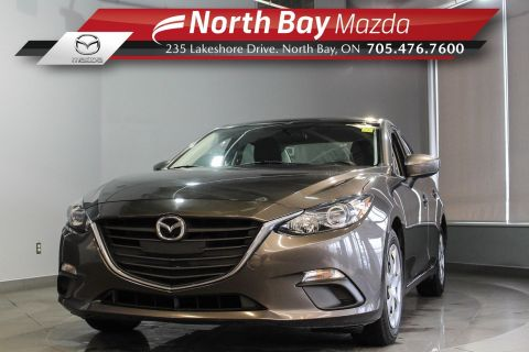 Pre-Owned 2015 Mazda 3 GX Manual with Bluetooth, A/C, Clean CarProof
