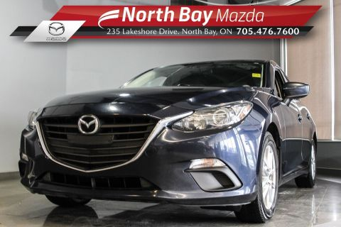 Pre-Owned 2015 Mazda3 GS with Heated Seats and New Tires & Brakes! FWD 4dr Car