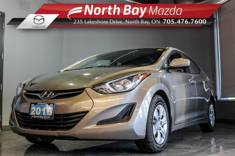 Pre-Owned 2016 Hyundai Elantra Limited Manual with Cruise and Clean CarProof