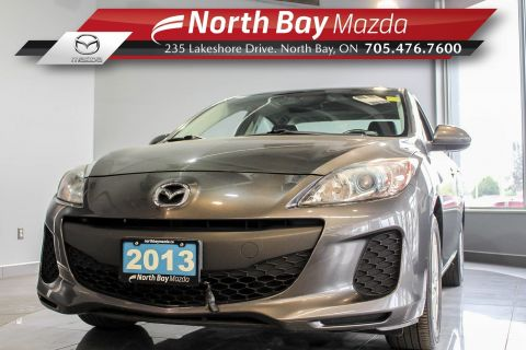 Pre-Owned 2013 Mazda 3 GS-SKY FWD with Sunroof, Heated Seats, Bluetooth