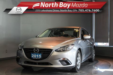 Pre-Owned 2015 Mazda 3 GX with Bluetooth, Brake Service Done