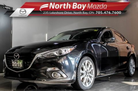 Pre-Owned 2015 Mazda3 Mazda3 GT with Bose Speakers, Manual Transmission, Sunroof