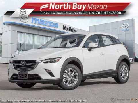 New 2019 Mazda CX-3 GS