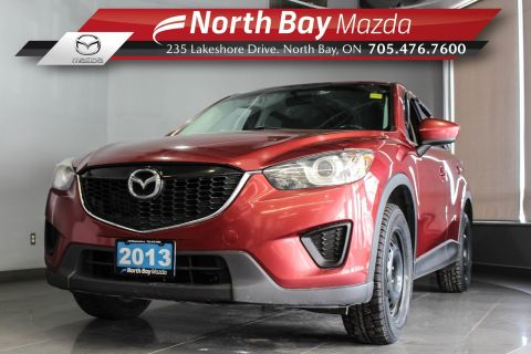Pre-Owned 2013 Mazda CX-5 GX AWD with Two Sets of Tires, Bluetooth, Cruise