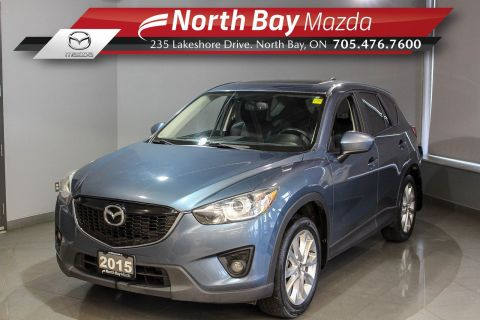 Pre-Owned 2015 Mazda Cx5 GT AWD with Bose Speakers, Sunroof, Heated Seats