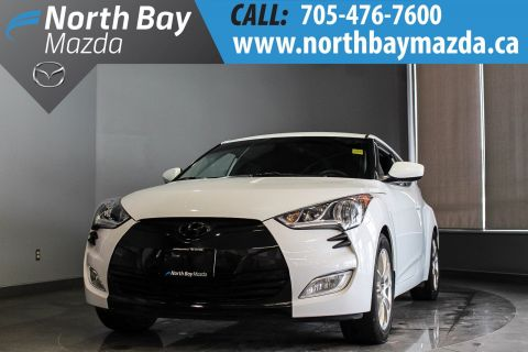Pre-Owned 2016 Hyundai Veloster Tech Manual with One Owner, New Brakes