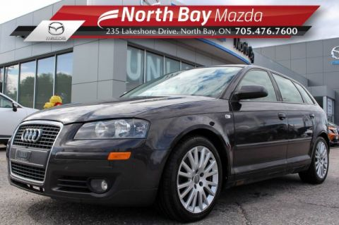 Pre-Owned 2007 Audi A3 2.0T FrontTrak Turbocharged! Self Certify